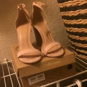 Size 9 Blush colored heels